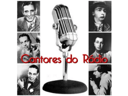 A Era do Rádio