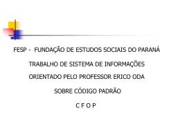 306-16 Apresentação CFOP ODA