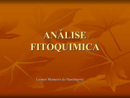 ANÁLISE FITOQUIMICA (1)