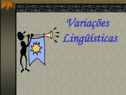 Variações Lingüísticas