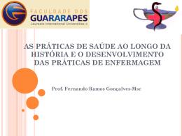 as práticas de saúde ao longo da história e o desenvolvimento das