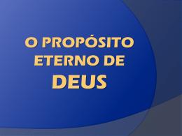 O_proposito_eterno_de_Deus