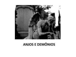 ANJOS E DEMÔNIOS - Paróquia Santuário São Judas Tadeu