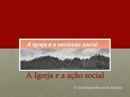 A Igreja e a ação social