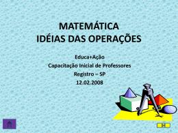 matemática - Educa+Ação