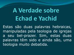 A_Verdade_sobre_Echad_e_Yachid