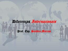 Diferencas Internaci.. - CRA-MA