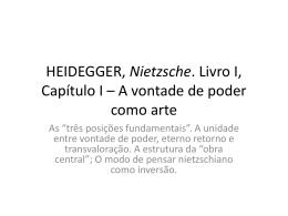 """Nietzsche"" de Heidegger"