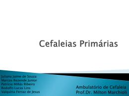 Seminário apresentando pelos alunos Juliana Jaime de