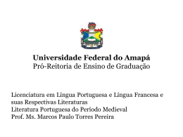 LitPortMedi.Apres02 - Universidade Federal do Amapá