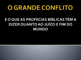 01. O Grande Conflito