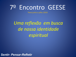 7 Encontro do GEESE