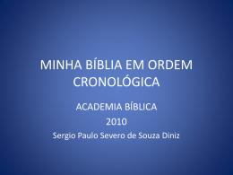MINHA BÍBLIA EM ORDEM CRONOLÓGICA