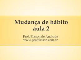 Homeostase - Prof. Elisson de Andrade