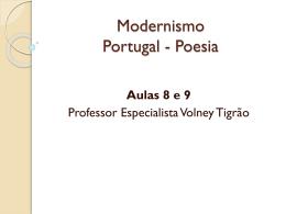 Modernismo Portugal
