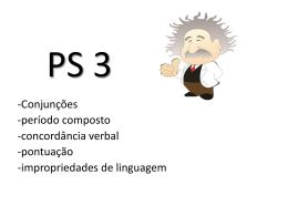 PS 3 - Einsteen 10 - Preparação levada a sério