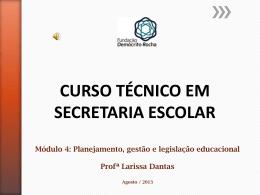 SECRETARIA ESCOLAR - M4