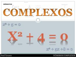 conjunto dos números Complexos