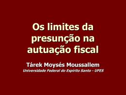 O Limite da Presunção na Autuação Fiscal