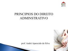 Princípios da administração Pública - Arquivo formato