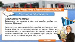 Psicologia Educacional - Assembleia de Deus Cacoal