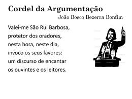orador - João Bosco Bezerra Bonfim