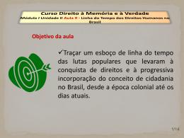 Linha do Tempo dos Direitos Humanos no Brasil