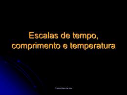 Escalas de tempo, comprimento e temperatura - GlobalFQ