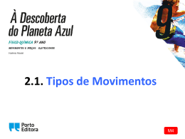 M4 PowerPoint: Tipos de movimentos