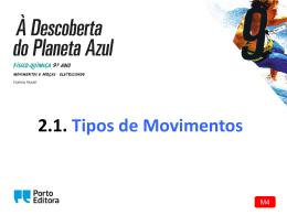 M4 PowerPoint: Tipos de movimentos