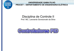 Controladores PID - Leonardo Gonsioroski