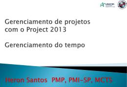 Trabalhando com o Project