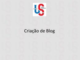 criacaodeblog