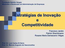 Estratégias de Inovação e Competitividade