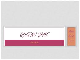 Queens Game Maria e