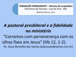 Pastoral presbiteral-motivação