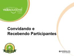 Convidando e Recebendo Participantes