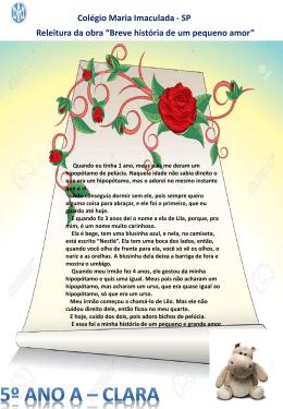Clara - Colégio Maria Imaculada