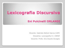 Slide 1 - Claudia Zavaglia