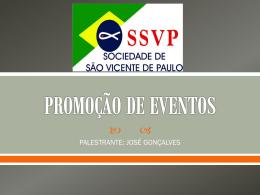 Palestra Promoção de eventos [ppt]