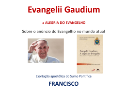 14.Evangelii Gaudium - Slides