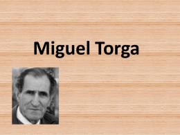 Miguel Torga - Resumos.net
