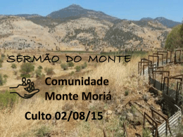 Mt 07.06-12 – Como influenciar outros – 020815
