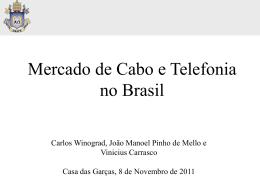 Mercado de Cabo e Telefonia no Brasil