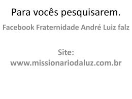 FLUIDO VITAL - André Luiz