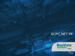 SCPC Net PF - Boa Vista Serviços