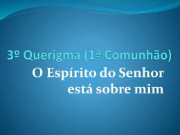Querigma comunhão 03