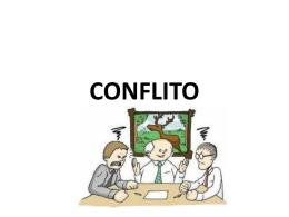 CONFLITO E NEGOCIAÇÃO