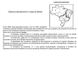 Brasil - Questões da aula