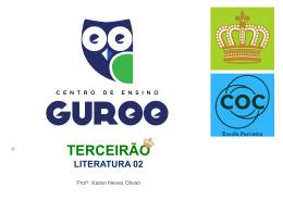 + A PLURISSIGNIFICAÇÃO DA LINGUAGEM LITERÁRIA A
